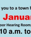 49th District Town Hall on January 7, 2012