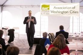 The Association of Washington Cities event. Steven M. Herppich