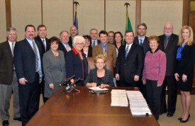 Blake - HB 2238 bill signing - Environmental mitigation - Mar 23 2012