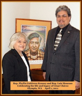 Moscoso and Kenney - Cesar Chavez 2011