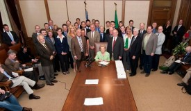 SB 6406 bill signing Protection of natural resources - May 2 2012
