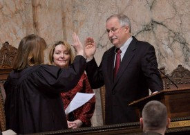 Speaker Chopp taking the Oath of Office, 2011