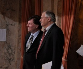 Speaker Chopp with Rep Condotta, 2012 Session