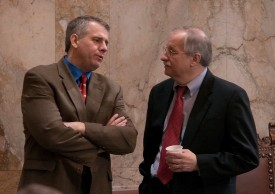 Speaker Chopp with Rep DeBolt 2012 Session