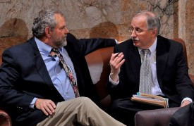 Speaker Chopp with Rep Hans Dunshee, 2011 Session