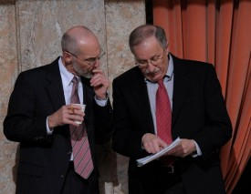 Speaker Chopp with Rep Larry Springer, 2011 Session