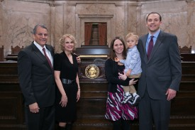 marcus riccelli and family