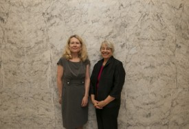 Rep. Kagi with Robin Abel