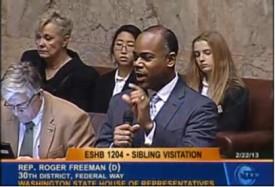 Rep. Roger Freema, House Bill 1204, sibling visitation