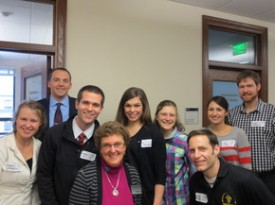 Rep. Riccelli with physical therapists