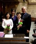 Skagit Valley Tulip Ambassadors Visit Olympia