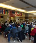 Town hall, veterans, and health insurance