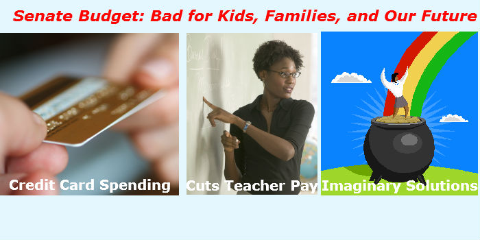 Senate Budget: Bad for Kids, Families, and Our Future