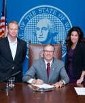 Stonier's first bill signed by Governor Inslee