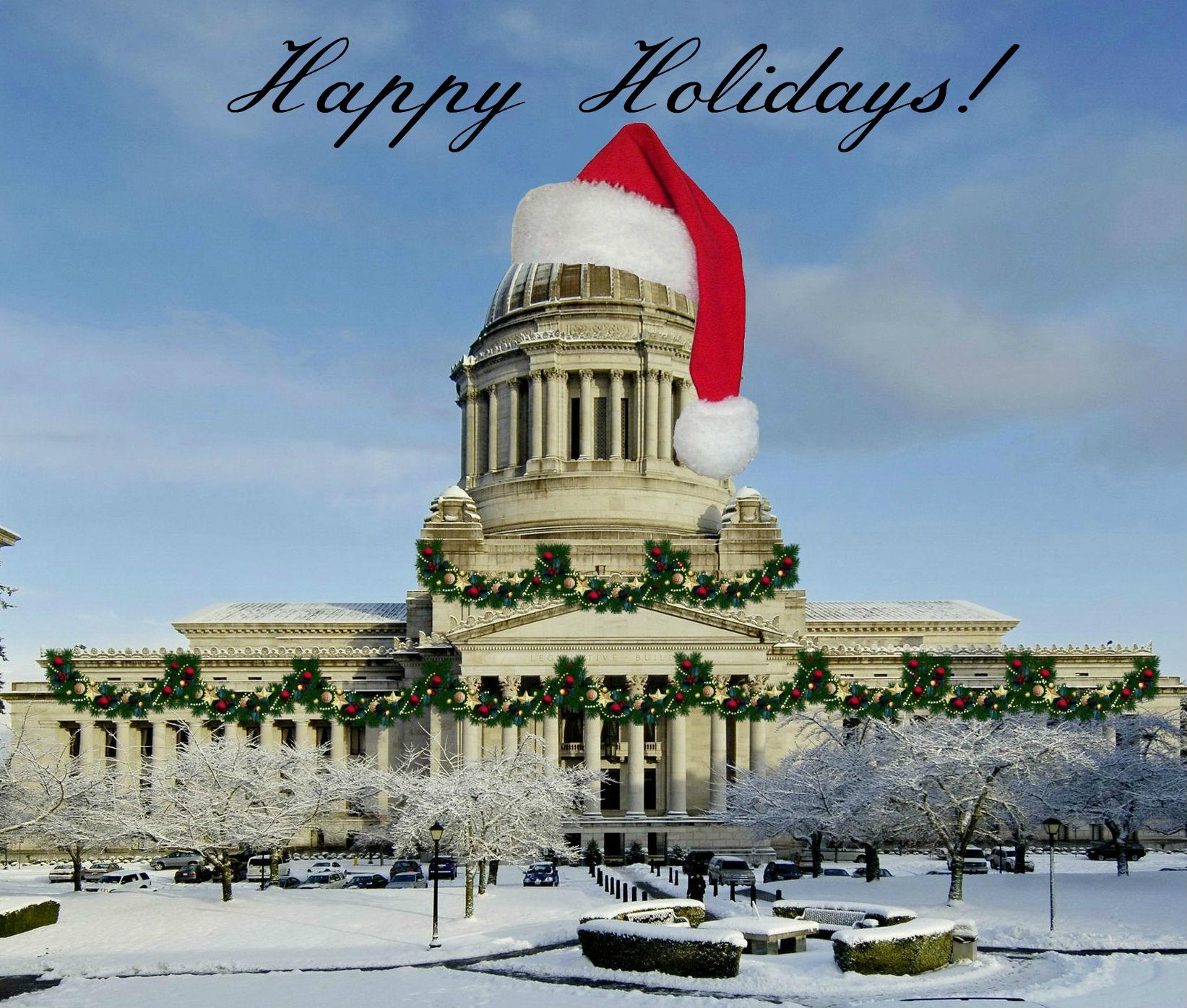 Washington State House Democrats Happy Holidays