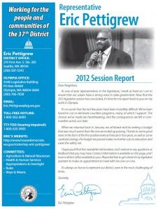 Pettigrew2012Newsletter