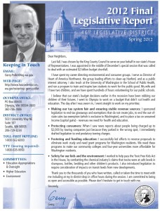 Pollet2012Newsletter