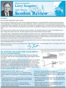 Seaquist2012Newsletter