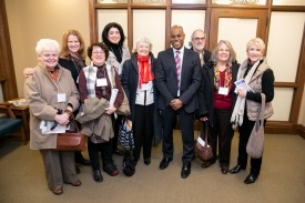 Rep. Freeman with members of the Federal Way Coalition of the Performing Arts.