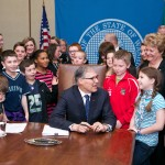 Governor Inslee signs Supplemental Transportation Budget