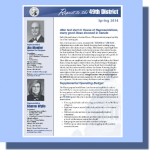 Spring 2014 Report to the 49th District