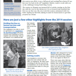 2014 Legislative Highlights from Rep. Gregerson