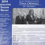 2014 Legislative Session Report to the 33rd District
