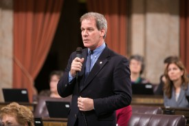 Rep. Goodman speaking on the House Floor Suhyoon Cho