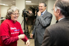 Diabetes screening event with Rep Laurie Jinkins and Governor Jay Inslee Steven M. Herppich