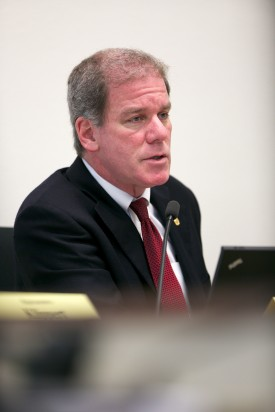 The House Public Safety Committee holds a public hearing February 4, 2014. Aaron Barna