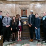 Students travel to Olympia in support of Youth Voting Act