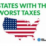 Washington has the worst taxes on average earners