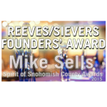 The 2015 Reeves/Sievers Founders' Award goes to Rep. Mike Sells
