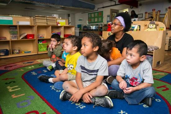 Students children Martin Luther King Center Spokane