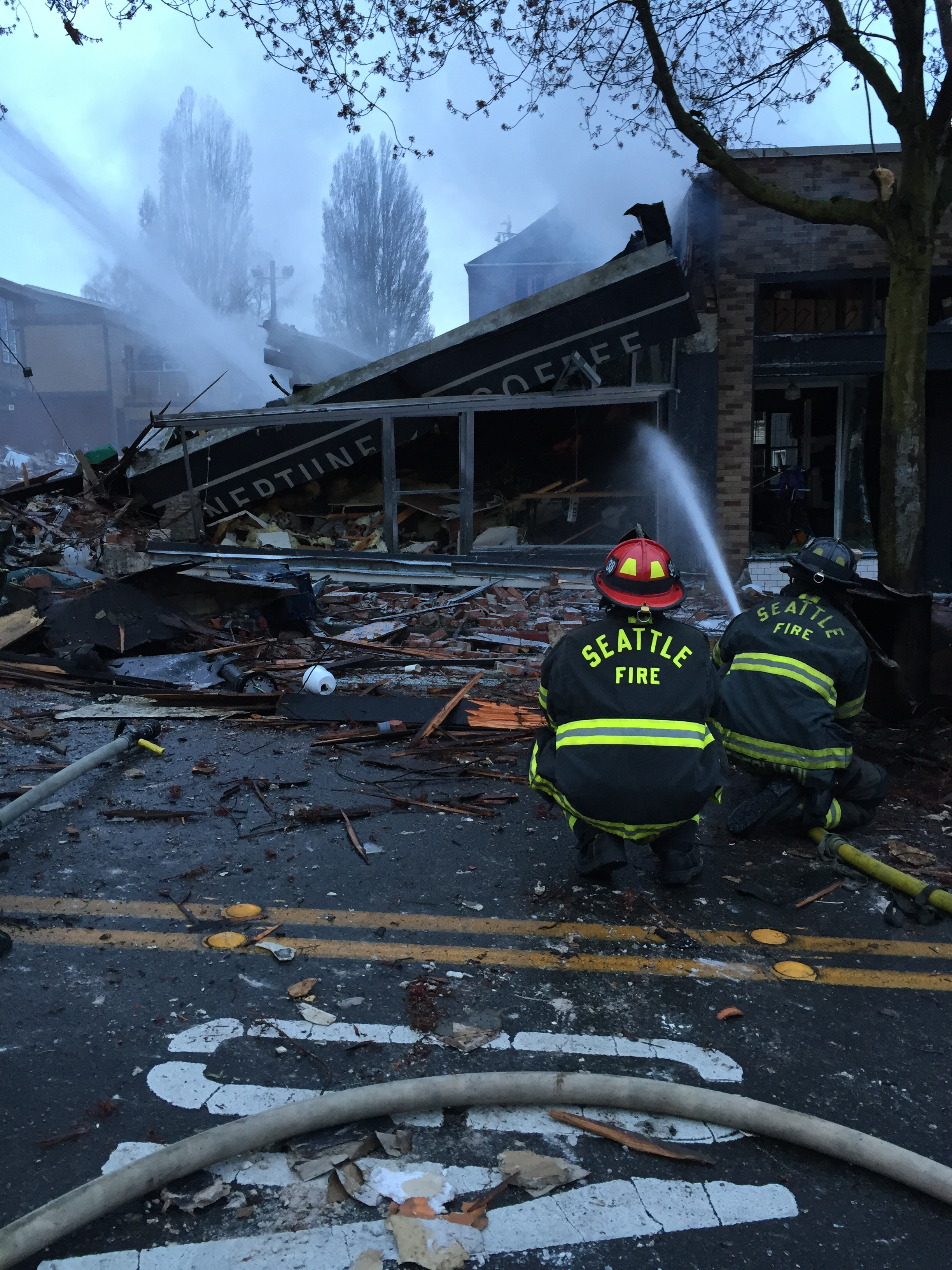 Washington State House Democrats Greenwood Explosion