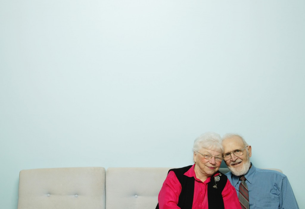 Senior couple --- Image by © Royalty-Free/Corbis