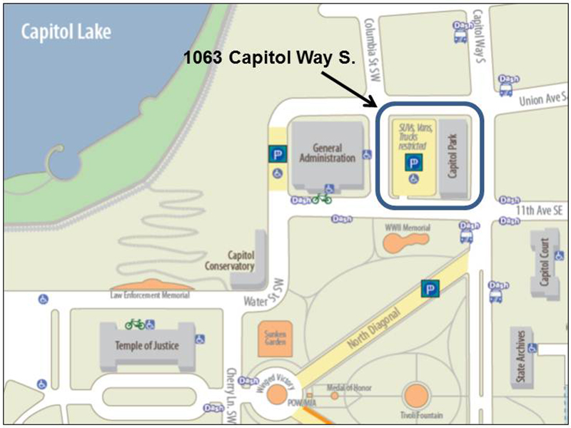 Olympia Capitol Campus Map.Washington State House Democrats New Gateway To Downtown Olympia