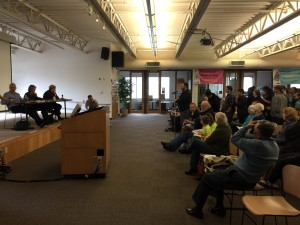 Rep. Jinkins Rep. Fey and Sen, Darneille answer questions at the 27th District Town Hall