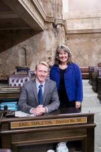 Rep. Tarleton and staff Legislative Support Services