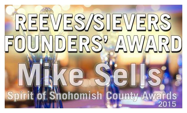 mike sells award