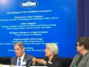 Rep. Kagi at the White House State Education Leaders Convening