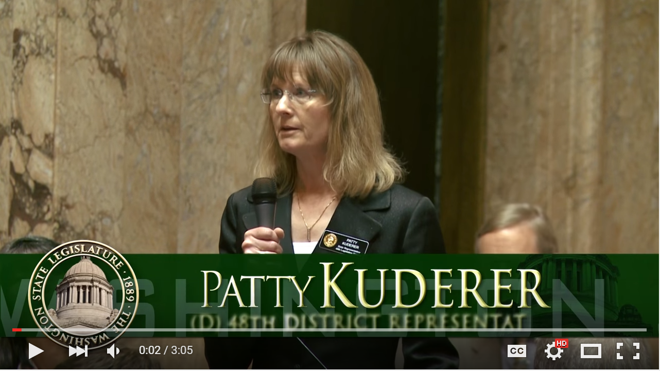 Rep. Patty Kuderer honor's Dr. King