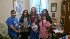 """A visit with FIRST Robotics team - """"The Rose Dragons"""""""