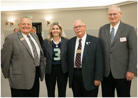 Tina with members of Veterans Legislative Coalition