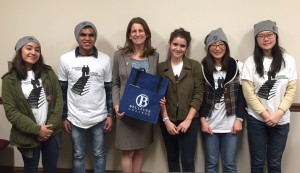 Rep. Senn meets with Bellevue College advocates
