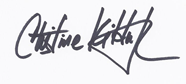 Christine Kilduff signature
