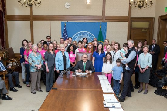 Governor Inslee signs HB 5835