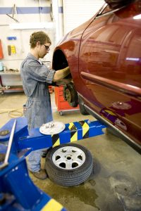 Automotive skills vocational technical education community college