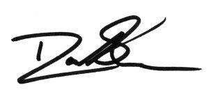 Rep. David Sawyer signature