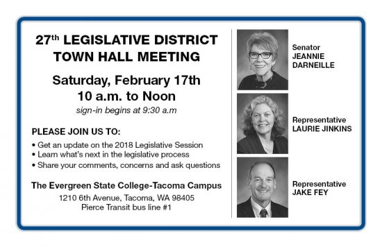 Washington State House Democrats » MEDIA ADVISORY: Town ...